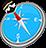 icon com.quranreading.qibladirection 7.7