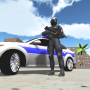 icon Police Car Driver 3D