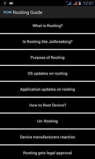 Panduan Rooting
