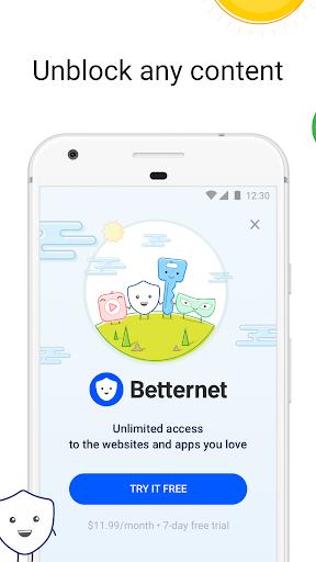 VPN Gratis -Betternet WiFi Proxy