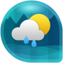 icon Weather & Clock Widget for Android (Air Forecast)