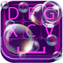 icon Soap Bubble Keyboard Design